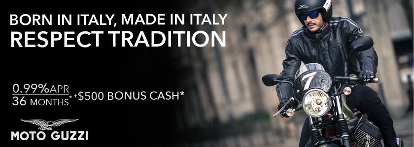 2015 Moto Guzzi promo